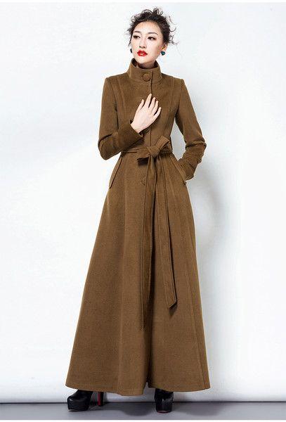 Autumn coats,wool coats,long coats,women coats from Fashion Sky by .