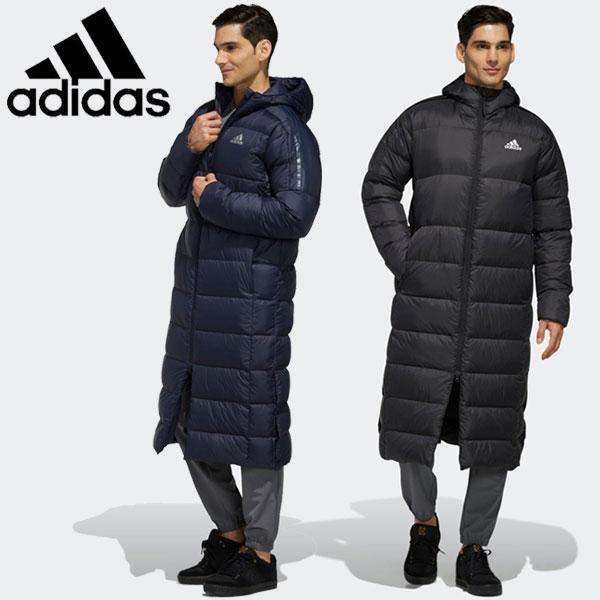 annexsports: Adidas BOS Long Light Down Parka down jacket men .