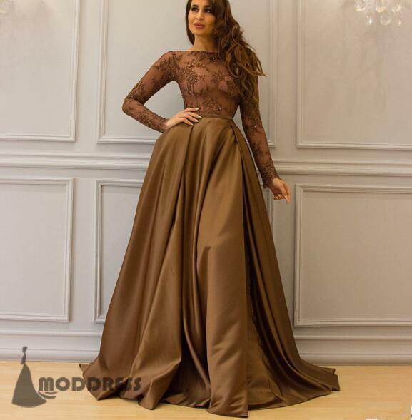 pink prom dress, long prom dress, formal prom dress – MODDRE