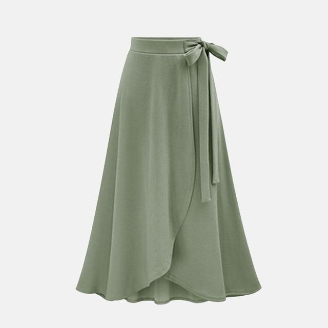 High Waist Long Skirt – classytiffanys.c