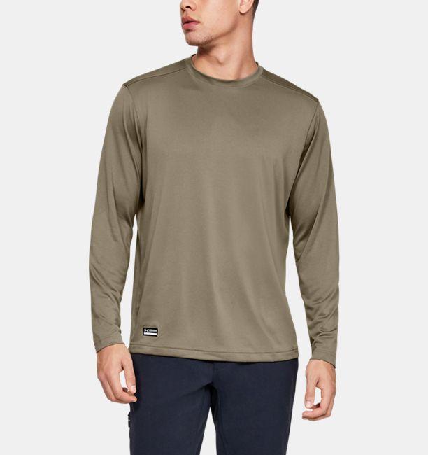 Men's Tactical UA Tech™ Long Sleeve T-Shirt | Under Armour