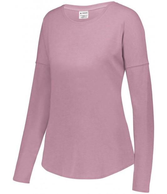 Womens Lux Tri-Blend Long Sleeve Shi