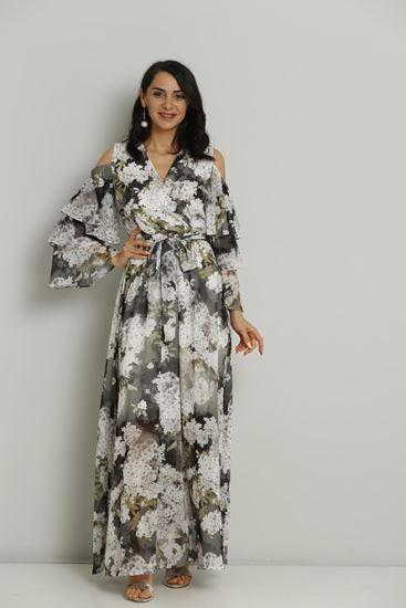 TEAMO Maxi Long Sleeve Casual Summer Dresses Fimkastore.com .