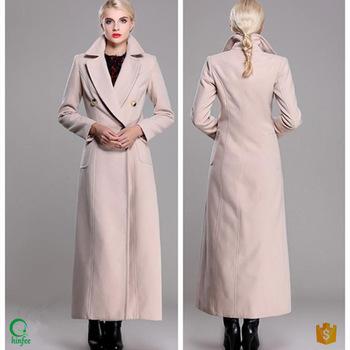 Swc031 Winter Woolen Women China Supplier Clothing Long Maxi .