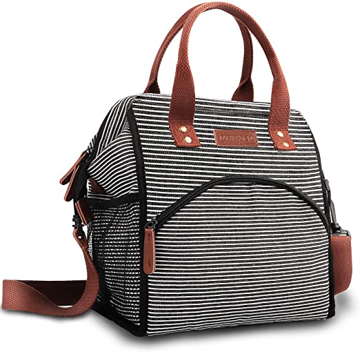 Amazon.com: Dynasco Lunch Bag, 【Large Capacity】Wide-Open Lunch .