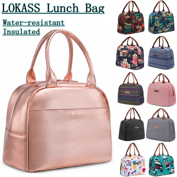 CoolBELL® Lunch Bag Cooler Bag Women Tote Bag Insulated Lunch Box .