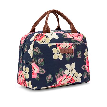 LOKASS Lunch Bag Cooler Bag Women Tote Bag Insulated Lunch Box .