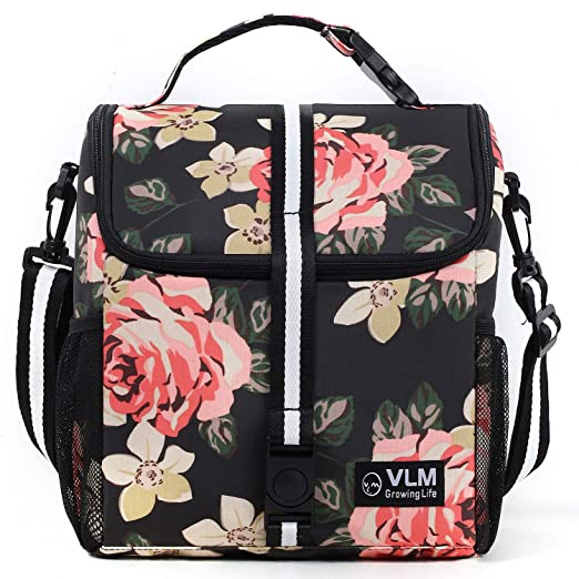 Amazon.com: VLM Lunch Bag for Women, Water/Leakproof Insulated .