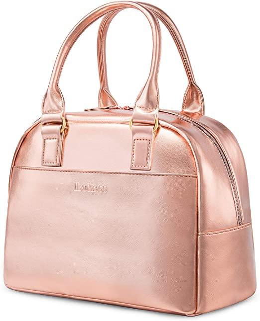 Amazon.com: LOKASS Lunch Bag Cooler Bag Women Tote Bag Insulated .