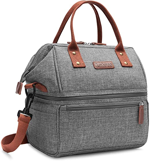 Amazon.com: Lokass Lunch Bags for Women Wide Open Insulated Lunch .