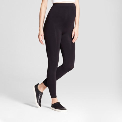 Maternity Seamless Footless Tight Belly Leggings - Isabel .