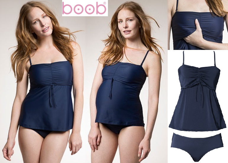 Fast Food Nuring/Maternity Tankini from Boob Desi