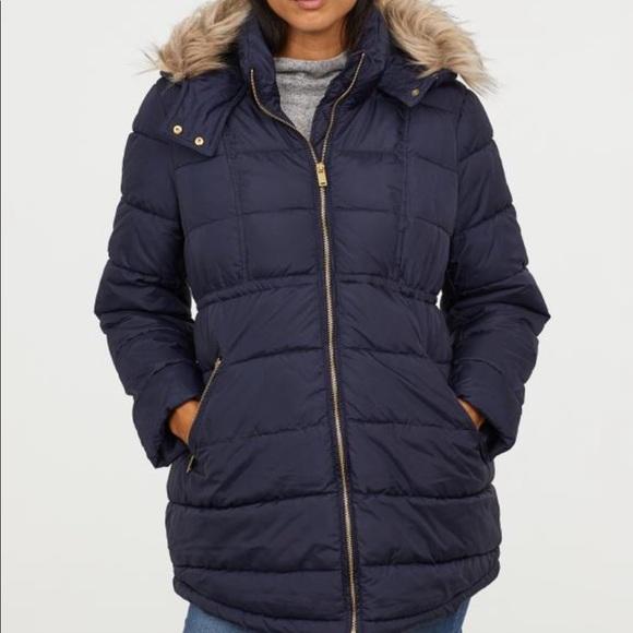 H&M Jackets & Coats | Hm Maternity Winter Coat | Poshma