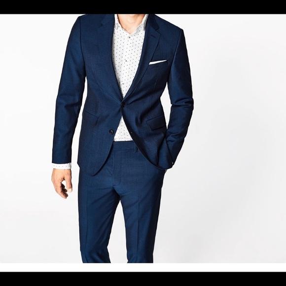Zara Suits & Blazers | Men New Mohair Blazer Size 42 | Poshma