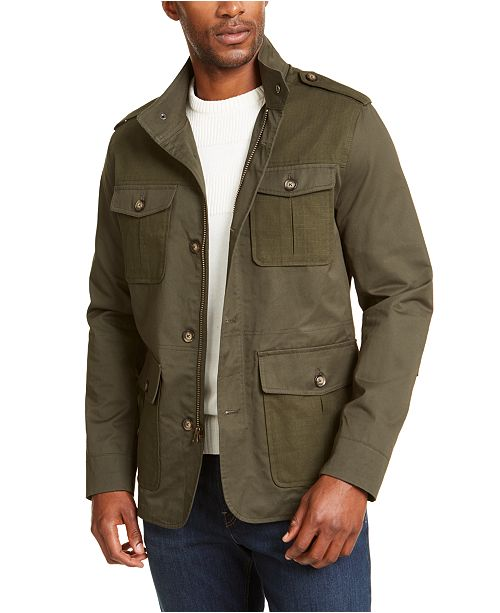 Club Room Men's Utility Jacket, Created for Macy's & Reviews .