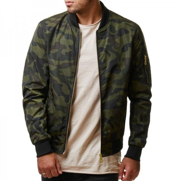 Buy Spring Autumn Casual Men Camo Jacket Army Military Jacket .