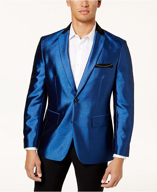 INC International Concepts I.N.C. Men's Shiny Blazer, Created for .