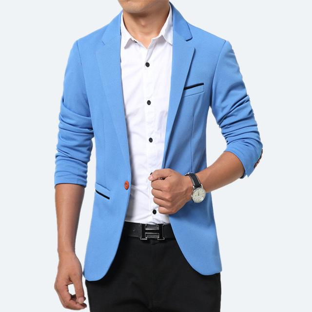 Mens blazers suit Jacket New Arrivals Casual Man Masculino Blaser .