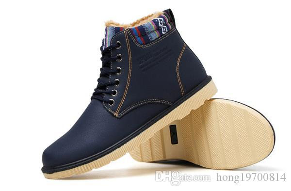 2017 Winter Cotton Shoes Mens Boots And Mens Short Boots, Mens .