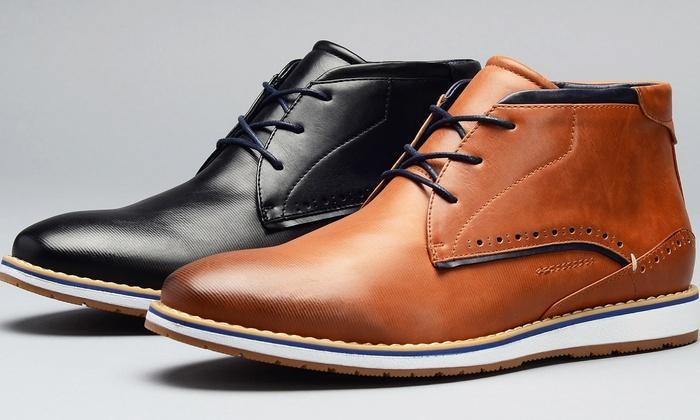 Harrison Men's Casual Desert Boots in Medium Width | Group