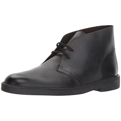 Men's Casual Boots Black: Amazon.c