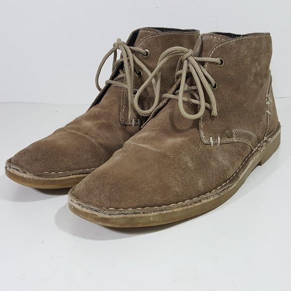 Bjorndal Shoes | Navigator Mens Chukka Boots Brown Suede L | Poshma