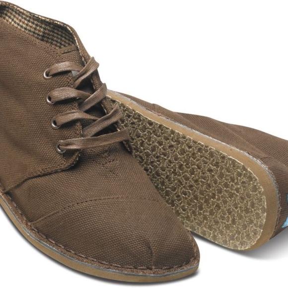 Toms Shoes | Mens Desert Boots | Poshma