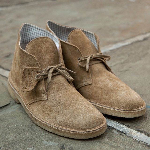 Fancy - Oakwood Desert Boot by Clarks | Mens desert boots, Clarks .