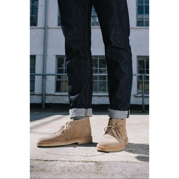 Clarks Shoes | Mens Desert Boots | Poshma