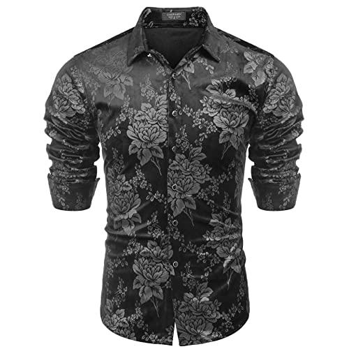 Men's Floral Dress Shirt: Amazon.c