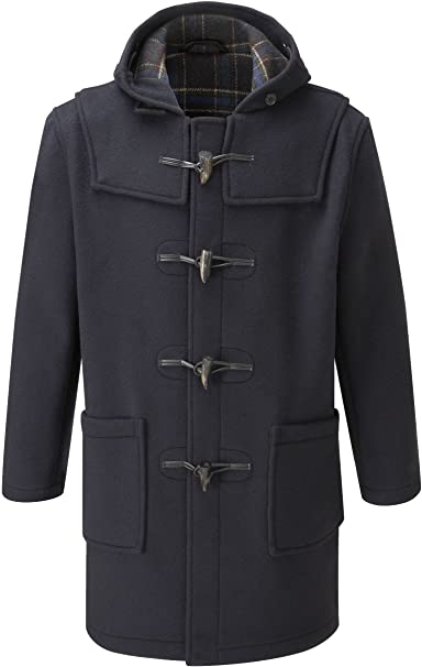 Original Montgomery Mens Duffle Coat - Toggle Coat at Amazon Men's .