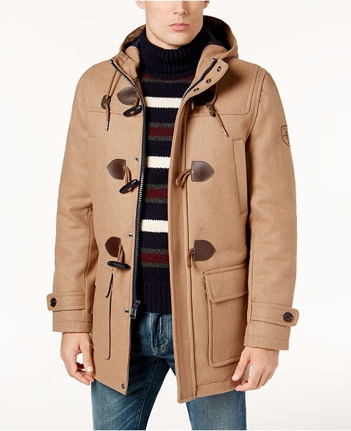 Tommy Hilfiger Men's Mansfield Duffle Coat, Created for Macy's .