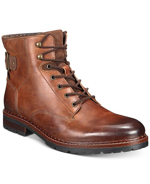 Alfani Men's Syd Leather Casual Boots, Created for Macy's .