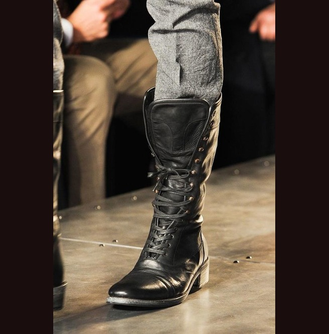 New Handmade Mens Military Style Superb Leather Boots | RebelsMark