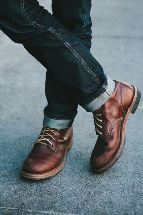 mens leather boots . | Mens leather boots, Boots men, Dress shoes m