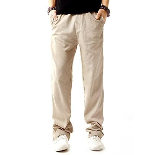 Mens Linen Beach Pants: Amazon.c