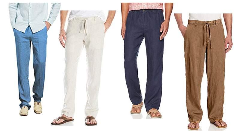 Best Men's Linen Pants: Drawstring Styles for Summer 2018 - Yoo Wo