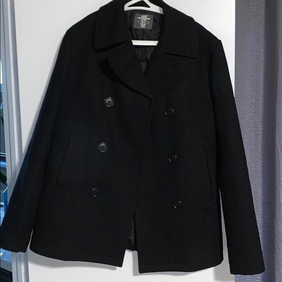 H&M Jackets & Coats | Hm Mens Peacoat | Poshma
