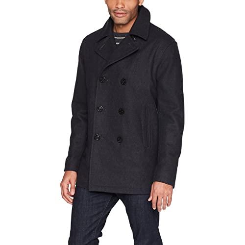 Men's Pea Coats: Amazon.c