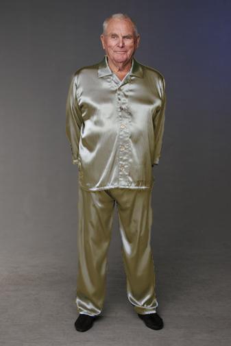 Men's Satin Pyjamas - Easywear Austral