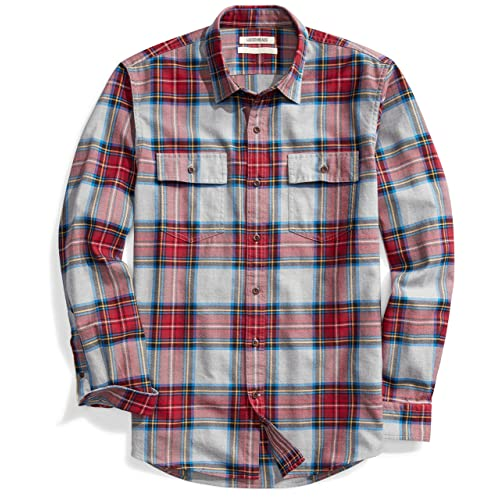 Men's Plaid Shirt: Amazon.c