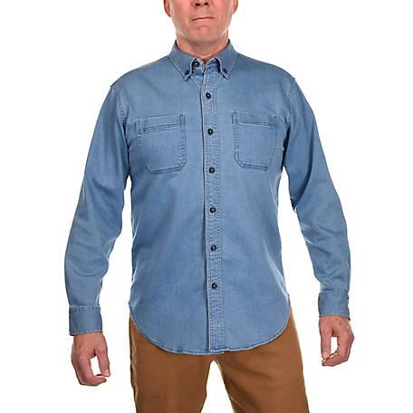 Ridgecut Men's Long Sleeve Denim Shirt at Tractor Supply C