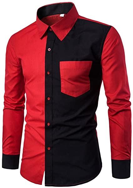 Amazon.com: Mens Shirts,Kstare Men's Fashion Black and White .