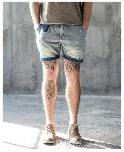 2020 2017 Mens Denim Shorts Fashion Summer Vintage Mens .