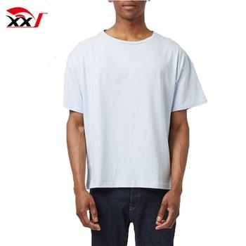 Boxy Fit Blank Cotton Mens Tee Shirts Wholesale China - Buy Plain .