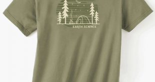 Earth Science Men's Organic short sleeve t-shir