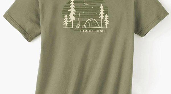 Earth Science Men's Organic short sleeve t-shir