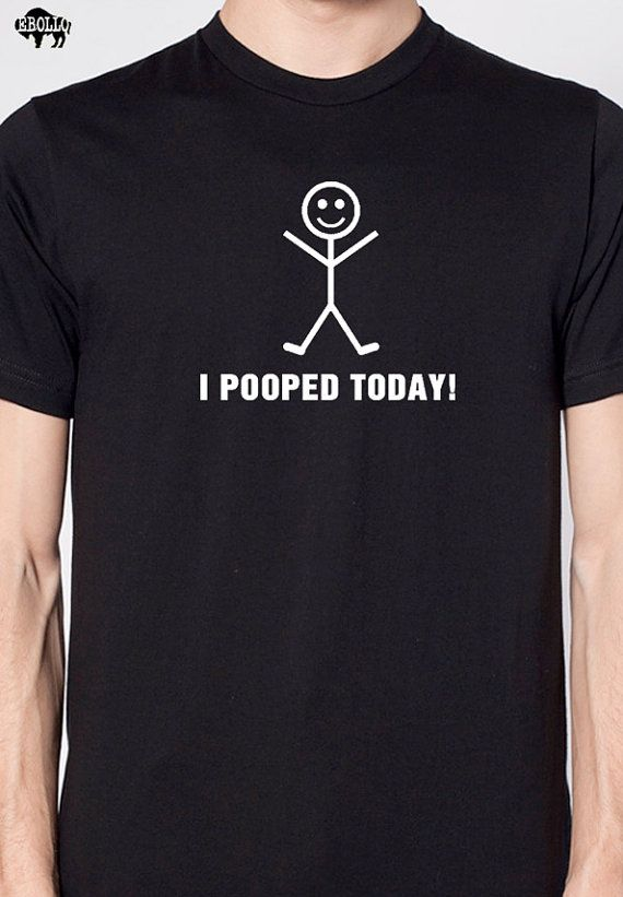 Christmas gifts I Pooped Today T-shirt Mens T shirt Holiday Gift .