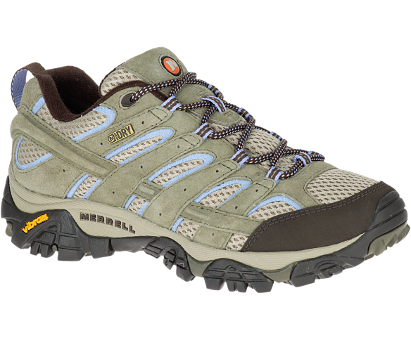 Merrell Women's Moab 2 Waterproof Wide Width Hiking Shoes | Merre