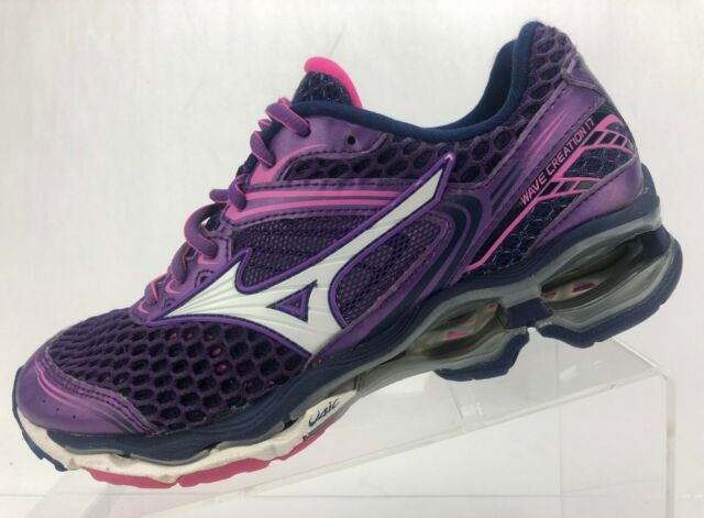 Mizuno Wave Creation 17 Running Shoes Purple Cross Training .